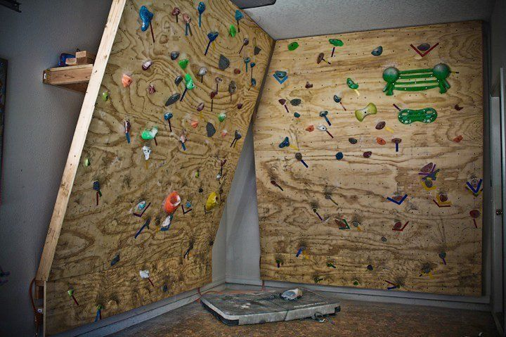 Basement Climbing Wall For Kids Google Search Home