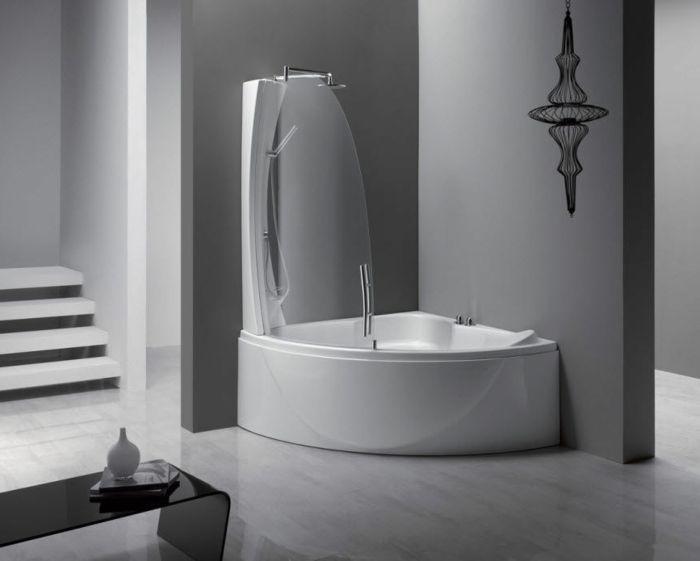 11 besten Bathroom Bilder auf Pinterest | Badezimmer ... | {Badewanne mit duschzone komplett 17}
