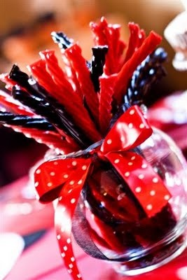 Black and Red Licorice