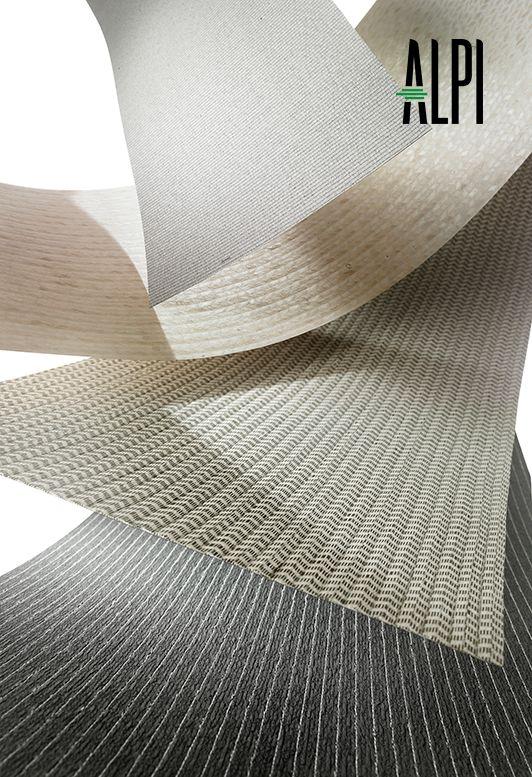 Un ejemplo de la excelencia ALPI. Variedad de colecciones -aplicables a productos terminados y a superficies horizontales o verticales-.