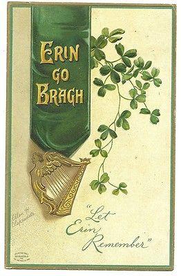 Ellen Clapsaddle St Patricks Day Irish  Postcard Series 1111