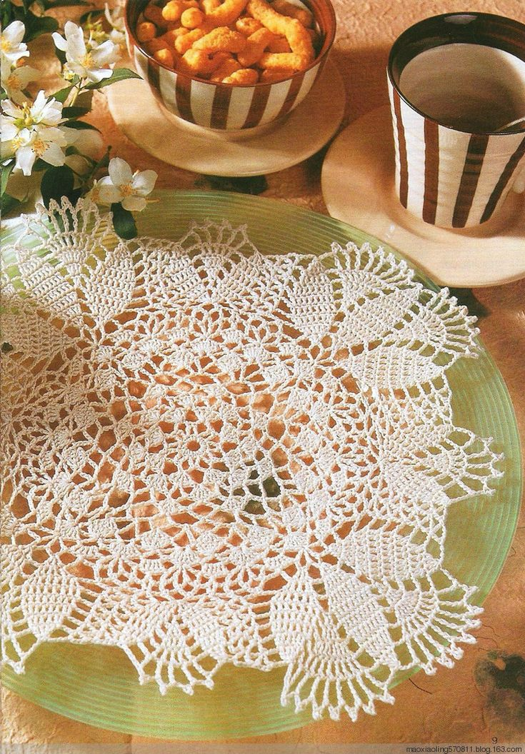 LEA特刊:镂空桌布(德语) - maomao - 我随心动 Doily patterns