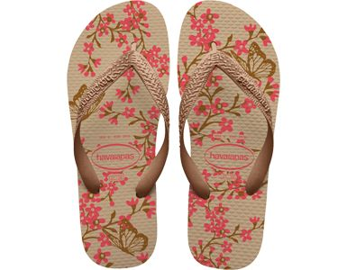 <p>The Color Fashion features delicate floral accents and layered heart images on our signature textured footbed for feminine style and comfort. A tonal Havaianas logo on the strap finishes the look.</p><ul><li>Thong style</li><li>Cushioned footbed with textured rice pattern and rubber flip flop sole</li><li>Made in Brazil</li></ul>