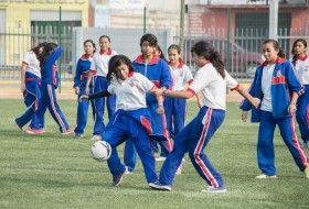 Estudiantes de San Jacinto Amilpas conocen el complejo deportivo del ITO
