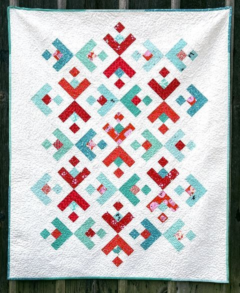 FREE PATTERN: Snowflake Quilt-Along from BERNINA #quilting