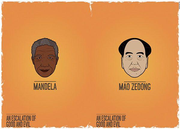 MANDELA - MAO ZEDONG