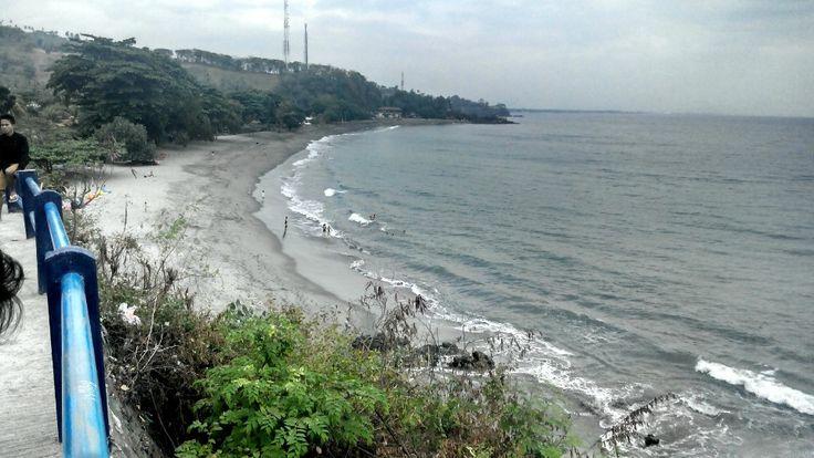 Pantai Senggigi di Senggigi, Nusa Tenggara Barat