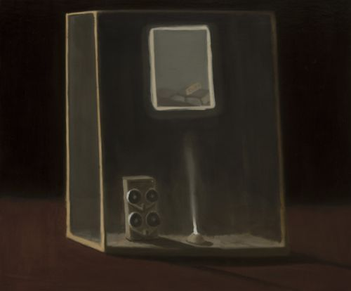 recollection device II | oil on canvas | 51 cm x 61 cm