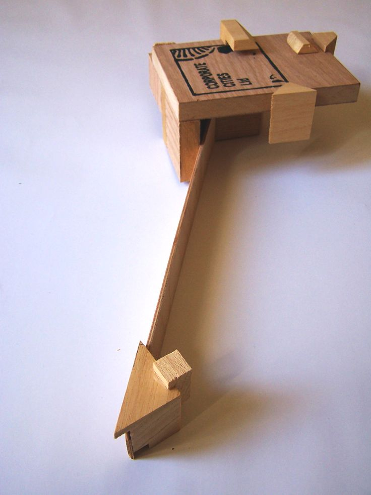 Giorgos Papadatos,   Corporate cities Ltd, 2008 wood, print dim 10X15X40 cm