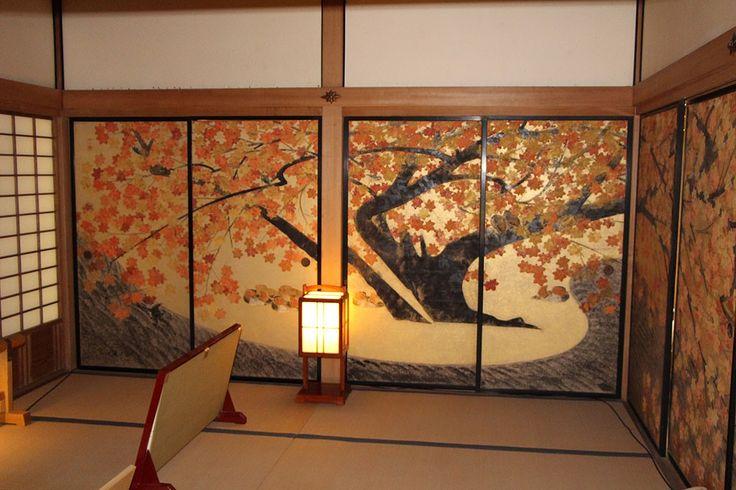 Beautiful Fusuma, Japanese sliding doors.