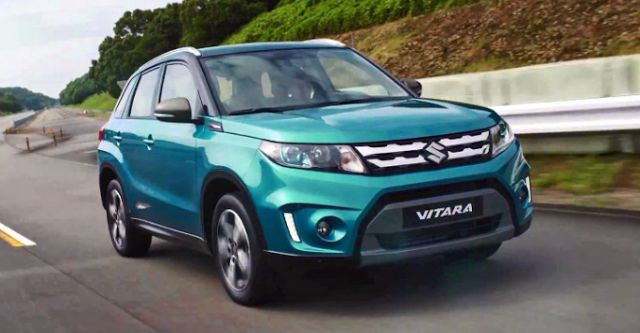 2017 Suzuki Grand Vitara Design