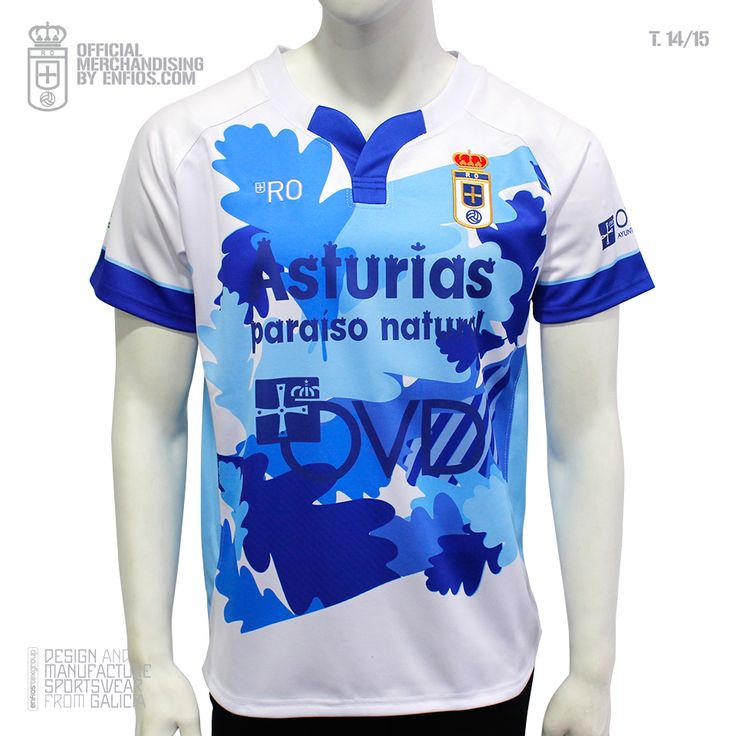 Real Oviedo Rugby 2º equipación T.14/15