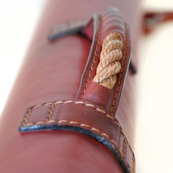 Pratesi,Marco Polo,leather accessories,leather tube carrying projects and drawings.