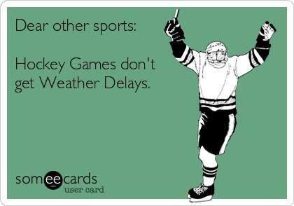 No Delays, Just Hockey!