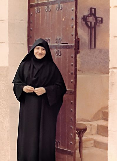 The late Mother Irini, Coptic Orthodox nun, Egypt
