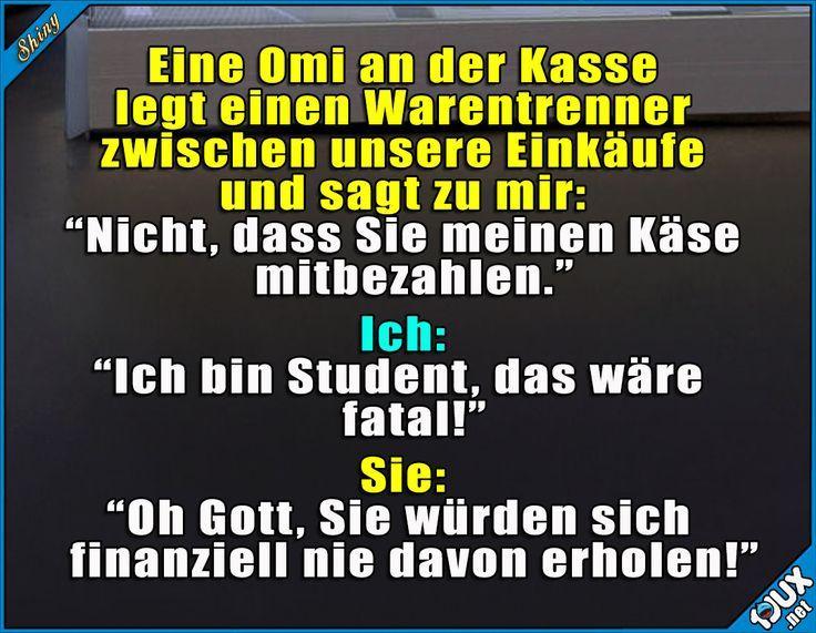 Omi weiß bescheid! #Student #studieren #Studentenleben #Studentlife #Humor #lus