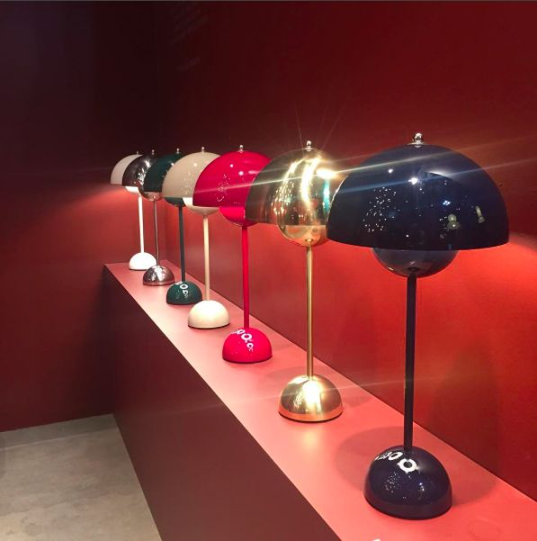 &tradiion launches a new edition of the Flowerpot lamp at Salone Del Mobile in Milan!