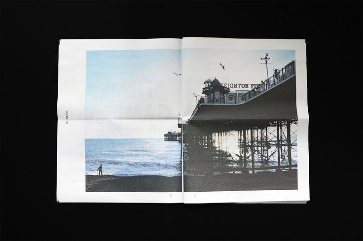 B-SIDES #digitaltabloid newspaper by graphic designer Ian Caulkett. Printed by…
