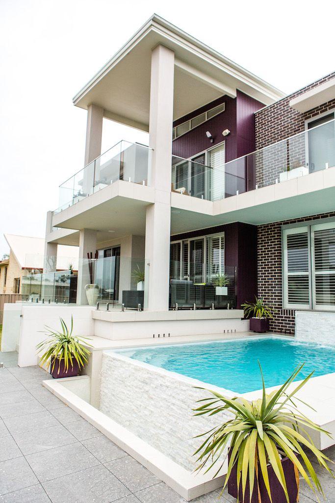 Little Lake   Bora Developments   NSW   Scyon Axon #cladding #house #pool #coastal