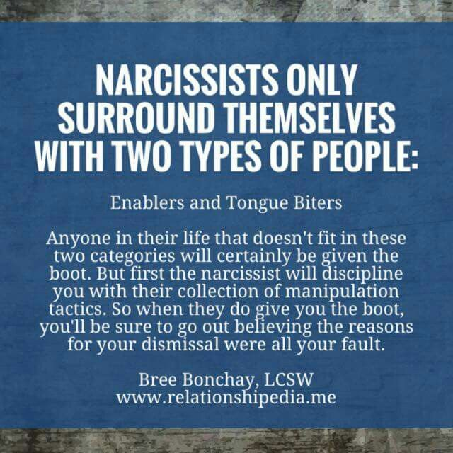 Yep, my spouse enables their bad behavior. When I point it out he becomes enraged, so I am forced to look on and receive. Maltreatment by biting my tongue over and over again.