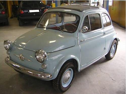 Vintage Fiat Cinquecento (500)