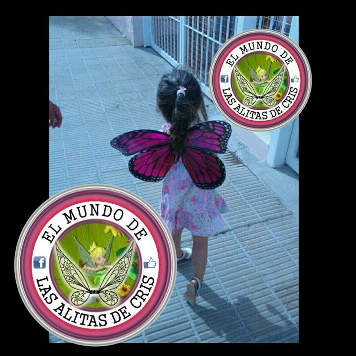 !! Somos creadores d alas y mariposas para disfraz estamos en el faces en la página El mundo de las alitas de cris