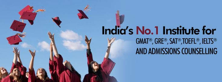 India's leading Institute for #GRE, #GMAT, SAT, TOEFL and IELTS test preparation and admissions abroad.