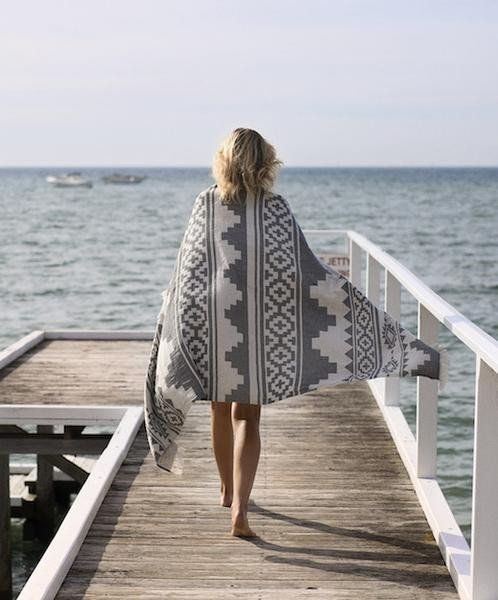 Arizona - Knotty's latest design. This stunning graphic comes in Charcoal in a Towel size, a Maxi Towel size and a huge King Bed Cover in 100% Turkish Cotton. S