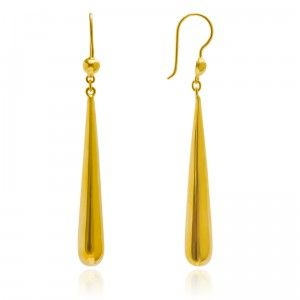 Dancing Dewdrop Earrings - MettaGems | Natural Gemstone Jewelry, Direct from manufacturers  18K Solid Gold