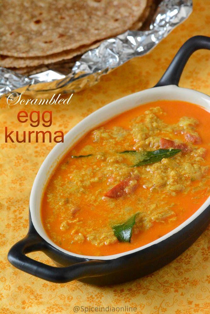 Scrambled Egg Kurma