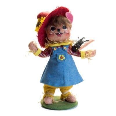 "Scarecrow Girl Mouse - 8"""