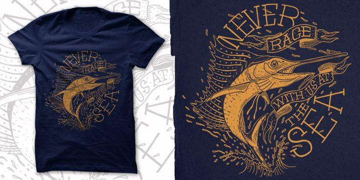 """""""Race"""" t-shirt design by Dealtruism"""