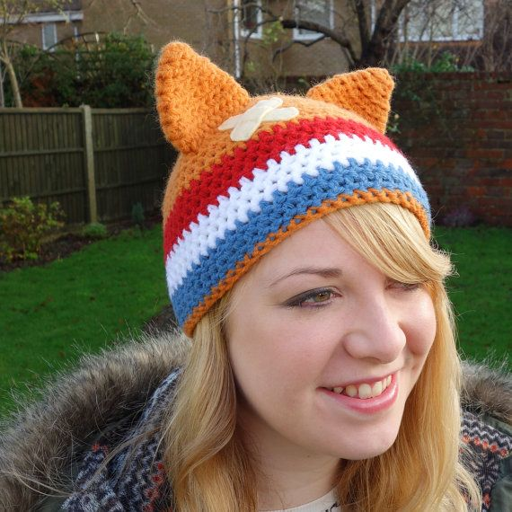 Mighty Boosh Crack Fox Hat by 42Flamingos on Etsy