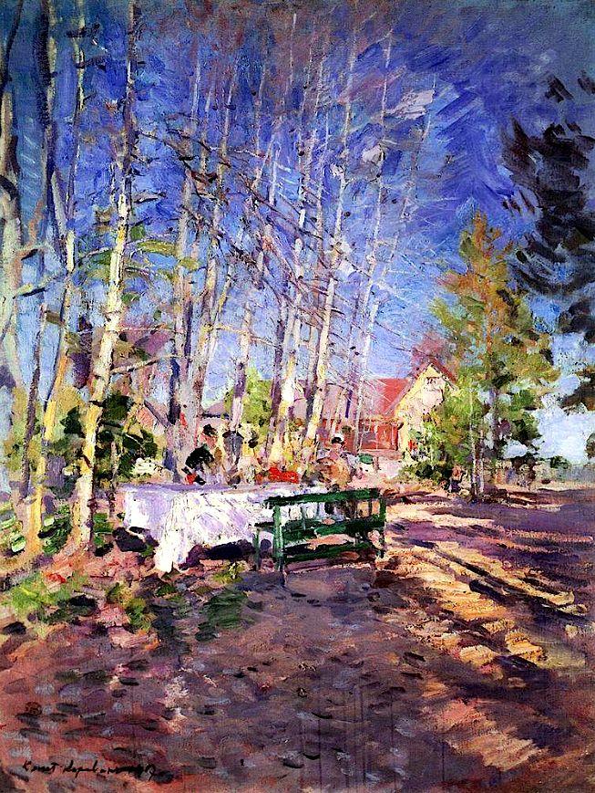 """""""Spring"""", Konstantin Korovin, 1917"""