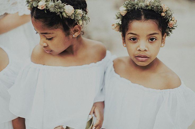 little flower crown girls