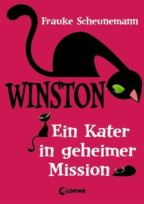 Auf einem ihrer Streifzüge werden der verwöhnte Kater Winston und die 12-jährige Kira von einem Gewitter überrascht. In dem Moment, als sich beide etwas wünschen, schlägt ein Blitz ein und – bumm – finden sie sich im Körper des anderen wieder. Winston ist entsetzt! Er steckt in einem Mädchenkörper! Trotzdem versucht er, Kira würdig zu vertreten, was etliche Verwicklungen zur Folge hat. Witzig und herrlich turbulent! Frauke Scheunemann, Winston. Ein Kater in geheimer Mission. Loewe Verlag. Ab…