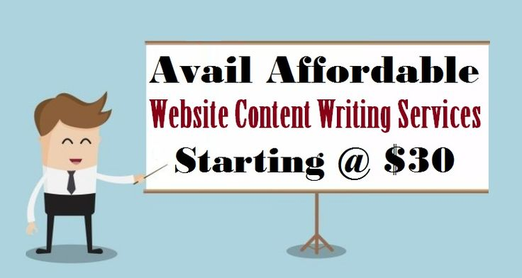 Avail Affordable #WebsiteContent Writing Services Starting @ $30  #Website #ContentWriting