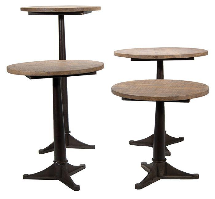 1000 ideas sobre mesas redondas de madera en pinterest - Mesas redondas de diseno ...