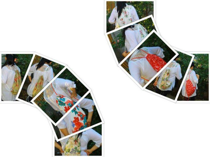Mochilas de lona vintage flores unisex  amplias y para todo tipo de uso... confección propia diseños exclusivos!!!  TEN LA TUYA!  precios inbox  mas info en www.facebook.com/lonamia.mochilas