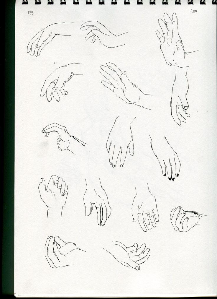 hand drawing croquis /January,2015