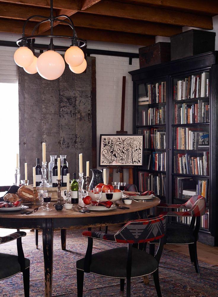 282 best ralph lauren home images on pinterest for Ralph lauren dining room ideas