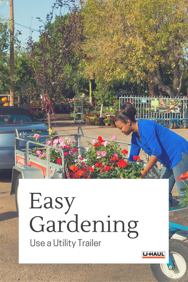 Use a utility trailer for easy gardening this spring utility trailers are perfect for hauling
