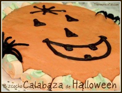 Bizcocho calabaza de Halloween - Recetas Thermomix