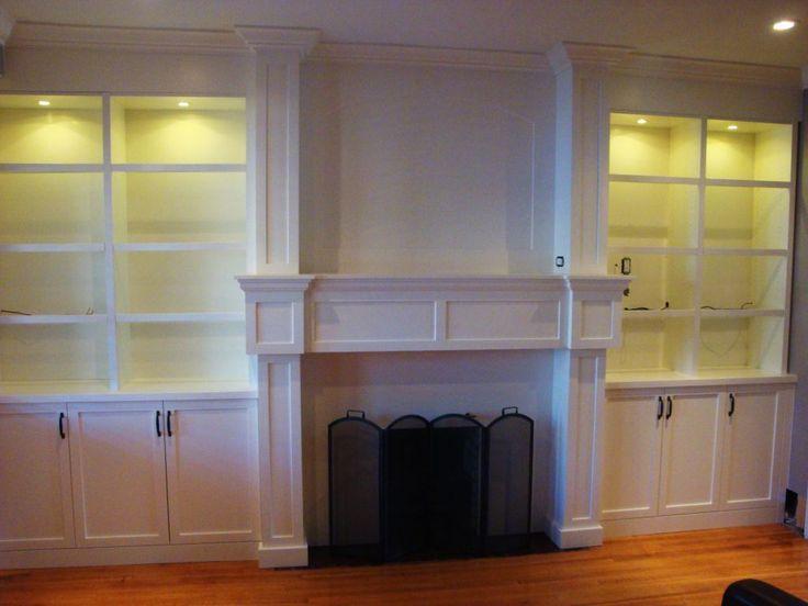 Best 25+ Shelves around fireplace ideas on Pinterest   Craftsman ...