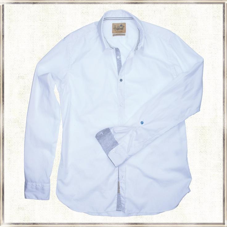 Halibut Shirt - New Jersey - Ultrasoft Halibut shirt with jersey inserts