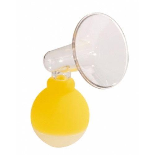 Bebedor Mini Göğüs Pompası  Hitap Ettiği Yaş Aralığı: Emzirme Döneminde Kullanım Amacı ve Faydası :  Şiş olan Göğüsteki fazla sütü alır Tıkalı Göğüs kanallarını açmak için kullanılır. Sezeryan ve erken doğum gibi durumlarda süte geçmeyi hızlandırır. Geriye Dönük Göğüs uclarını çıkarmak için kullanabilirsiniz.