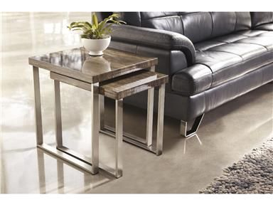 pictured ashley furniture living room nesting end tables item also available as nesting cocktail tables effin collection