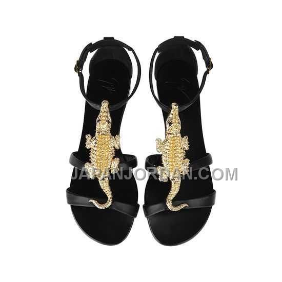 http://www.japanjordan.com/giuseppe-zanotti-womens-flat-sandals-black-nappa-leather-10mm.html GIUSEPPE ZANOTTI WOMENS FLAT SANDALS 黑 NAPPA LEATHER 10MM オンライン Only ¥16,119 , Free Shipping!