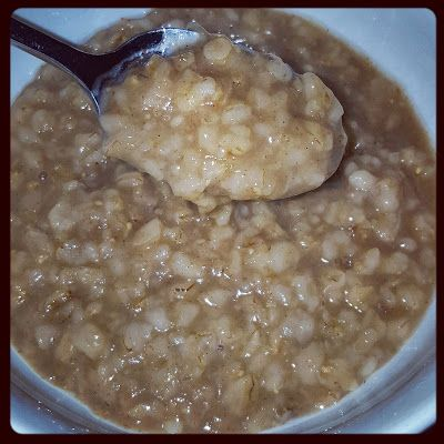 Simply Instant Pot: Maple Brown Sugar Oatmeal [Instant Pot]