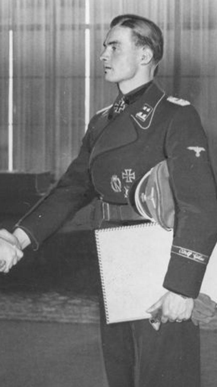 Max Wünsche | Germans in WW2 | Pinterest | Ss, German and ...